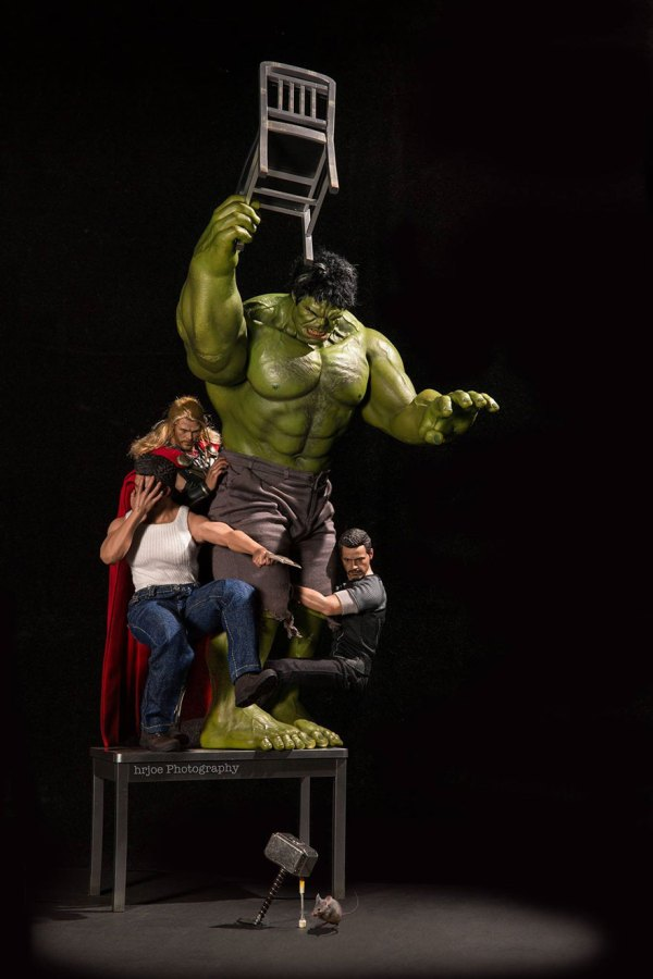 Marvel and DC superhero toys doing naughty and funny ...