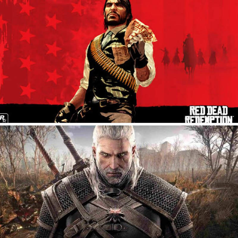 red dead e the witcher