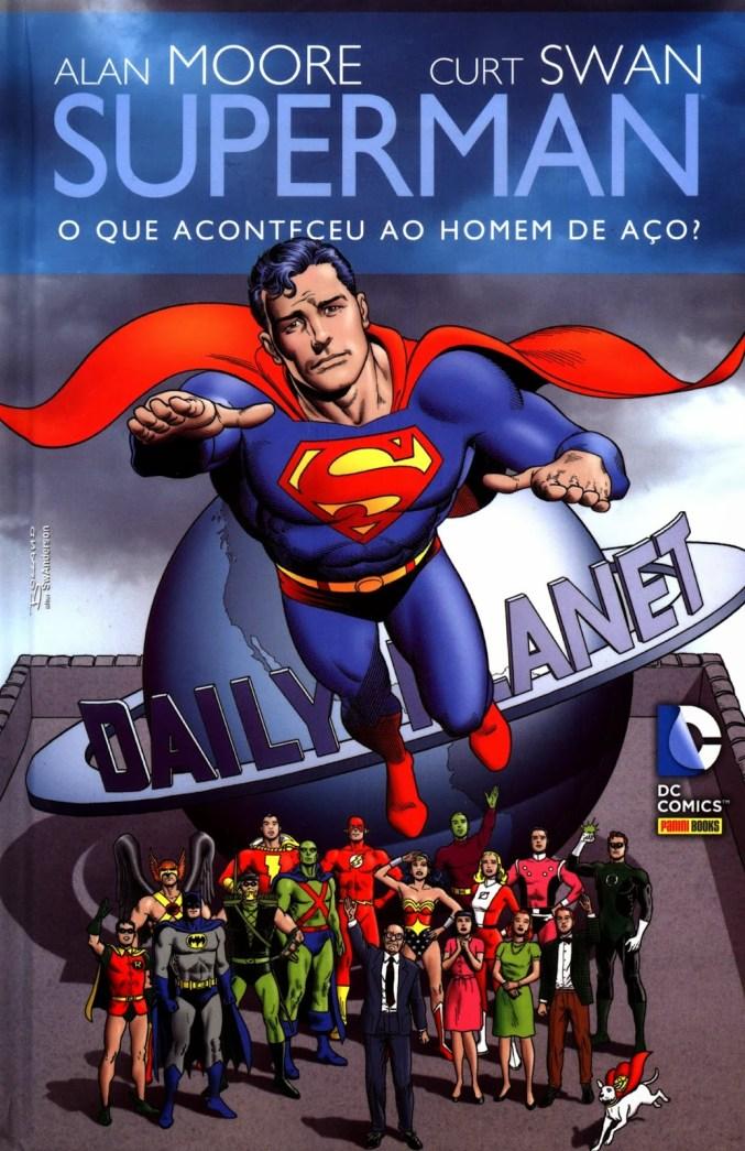 superman o que aconteceu com o homem de aço - capa
