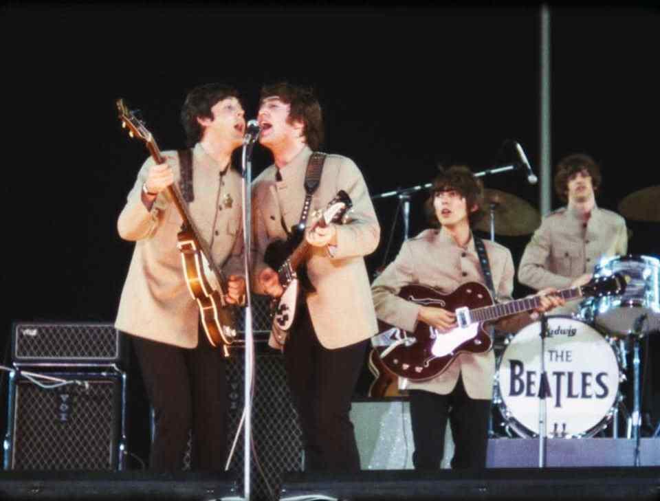 The Beatles no Shea Stadium