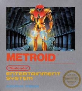 Metroid European boxart