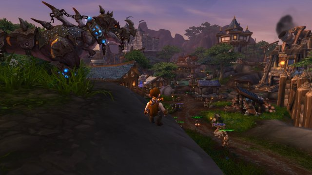 Mecha/Sparky looks out over Warspear
