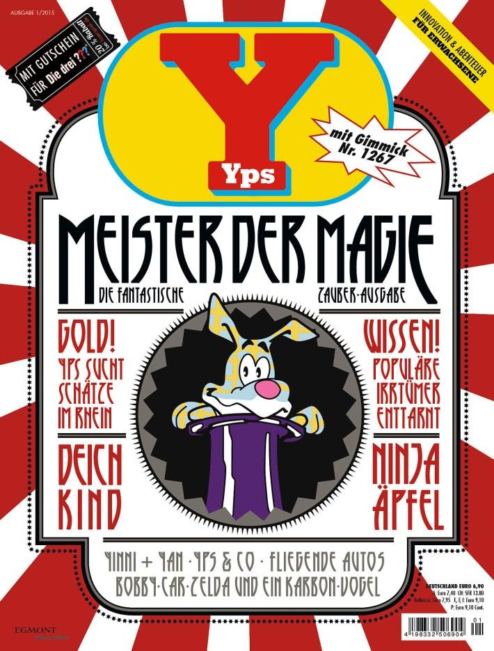 Cover der aktuellen Ausgabe von yps.de