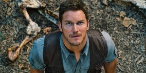 Chris Pratt in Jurassic World - (c) Universal