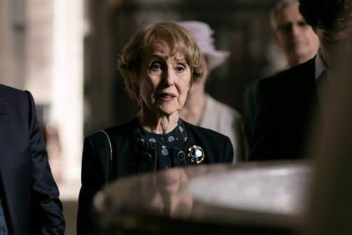 Picture shows: Mrs Hudson (UNA STUBBS)