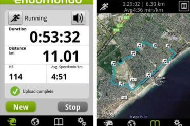 Endomondo Sports Tracker Free Android App
