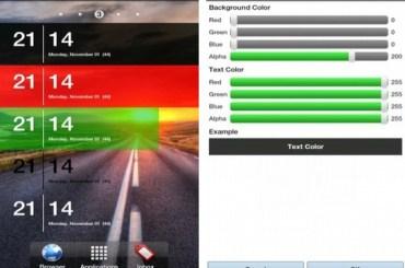 SiMi Clock Widget Android App