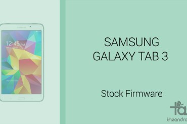 Galaxy tab S3 firmware