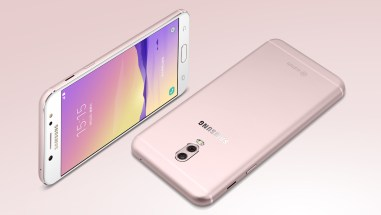 galaxy c8 in pink