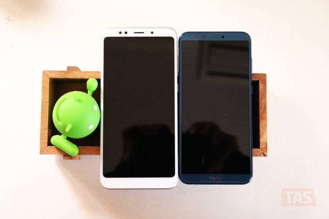 Redmi Note 5 and Honor 9 Lite