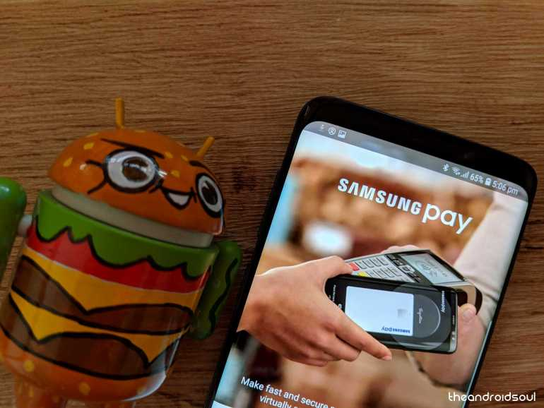 samsung pay issue on Galaxy s9