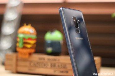 AOD GIF Galaxy S9
