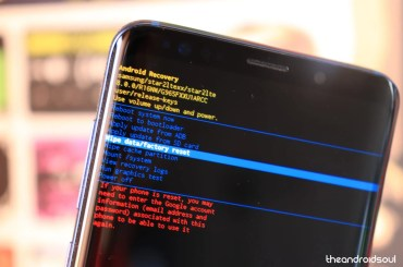 android factory reset fix
