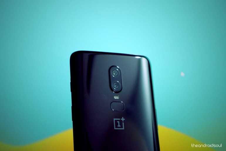 OnePlus 6 mobile phone