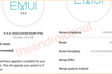 Honor Play Android 9 EMUI 9 rollout
