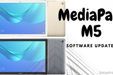 MediaPad M5 software updates