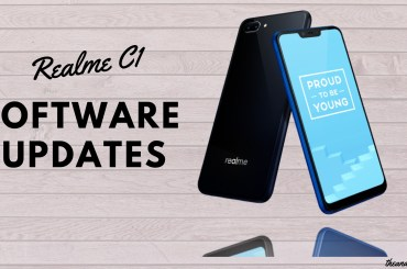 Realme C1 software updates (2)