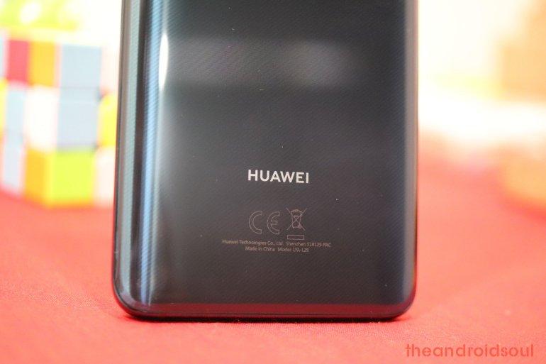 Huawei Mate 20 software update