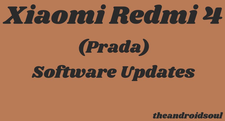 Xiaomi Redmi 4 update