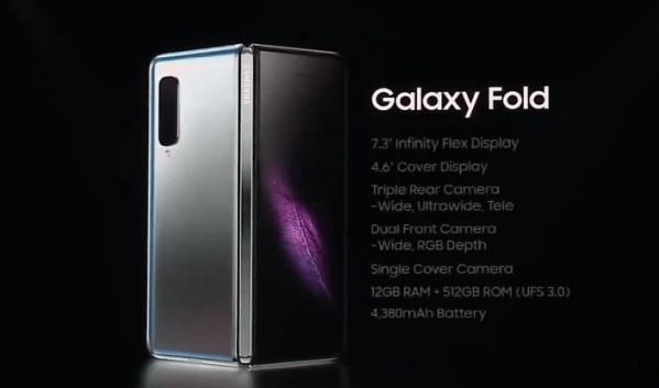 Galaxy Fold specs