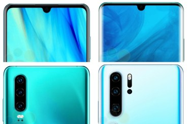 Huawei P30 and Huawei P30 Pro leaks