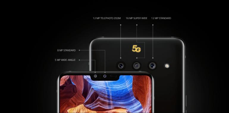 LG V50 ThinQ camera