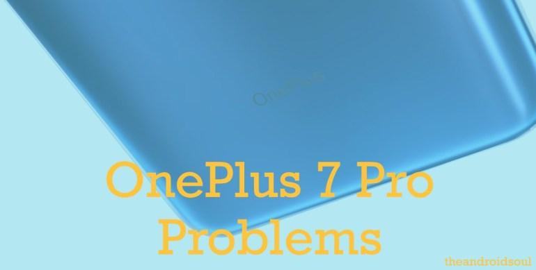 OnePlus 7 Pro problems
