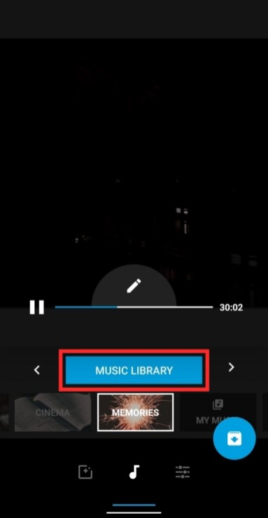 add background music using Quik-5-a