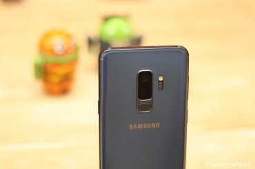 Samsung Galaxy S9 Plus and S9 update