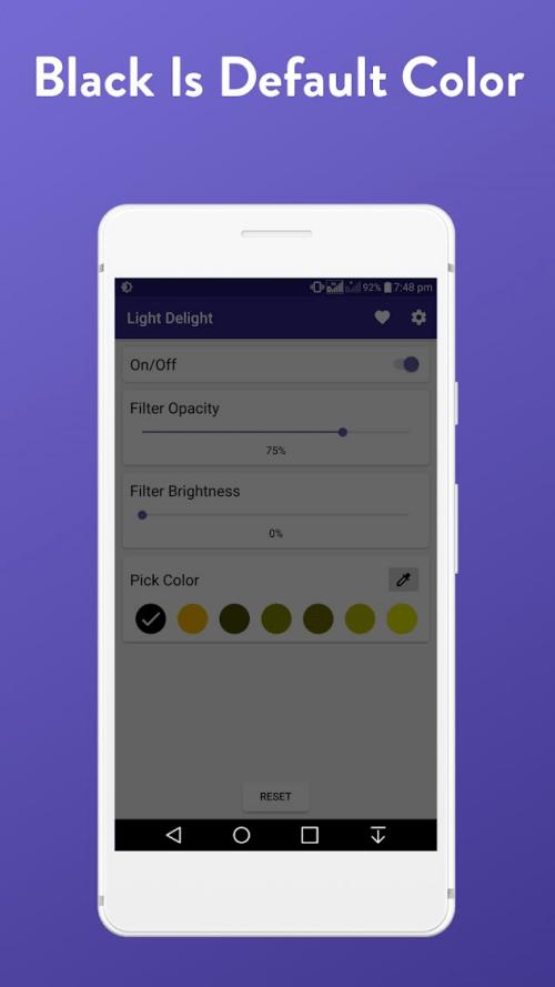Blue light filter apps 25
