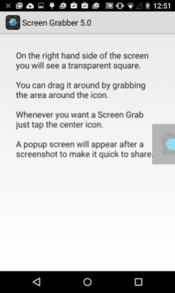 Screenshot X-1