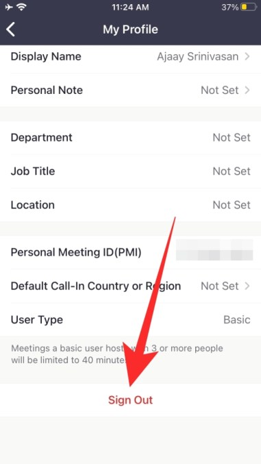 How to change your name before joining Zoom meeting Phone-3-a