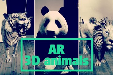 AR 3D animals