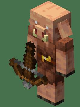 Minecraft Bow Piglin