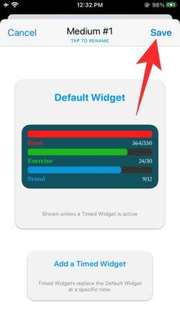 How to use Widgetsmith-71-a
