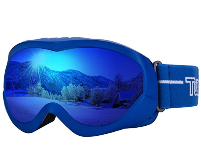Among Us Halloween Costume Goggles Blue