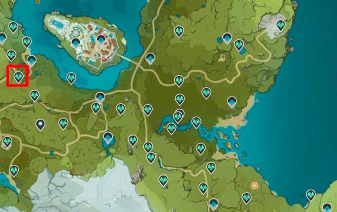 Anemoculous Locations Genshin Impact 41