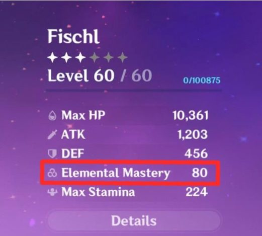 Genshin Impact Elemental Mastery Guide EM Highlighted