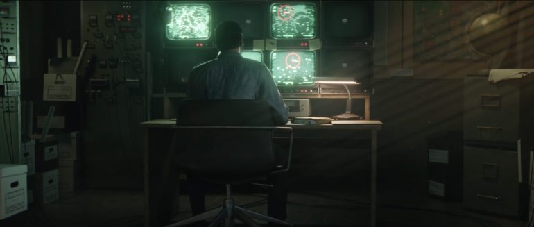 Black Ops Cold War New Zombies Map - Trailer Cutscene showing Sam at his desk