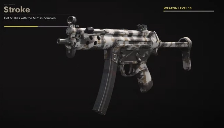 Black Ops Cold War Zombies Camo Challenges - Stroke