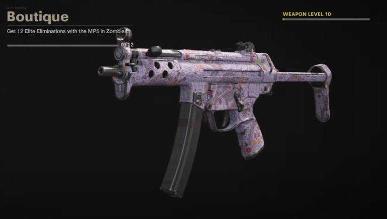 Black Ops Cold War Zombies Camo Challenges - Boutique