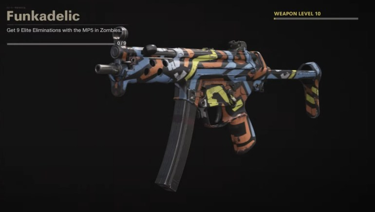 Black Ops Cold War Zombies Camo Challenges - Funkadelic
