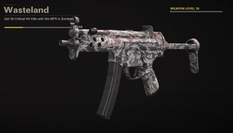 Black Ops Cold War Zombies Camo Challenges - Wasteland