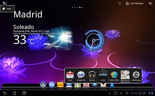 ADWLauncher EX for android