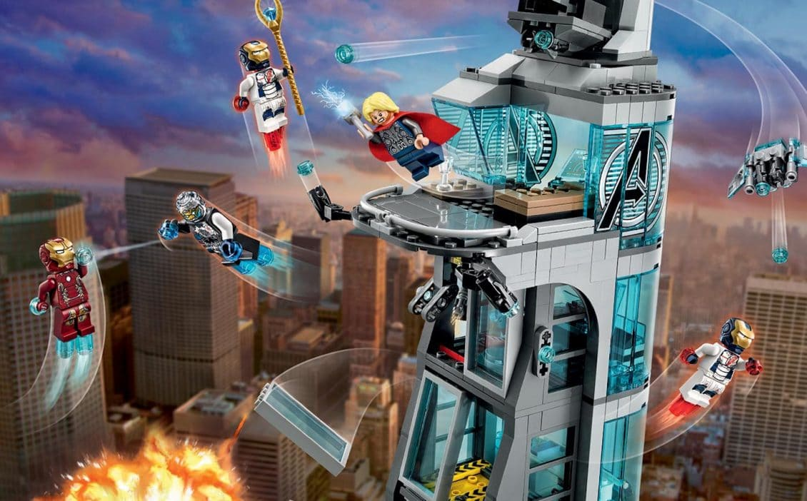 Review Of Lego Set 76038 Attack On Avengers Tower Nerds