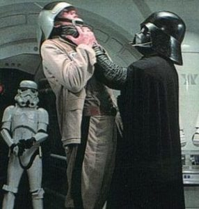 Is there a more iconic cyborg than Darth Vader?