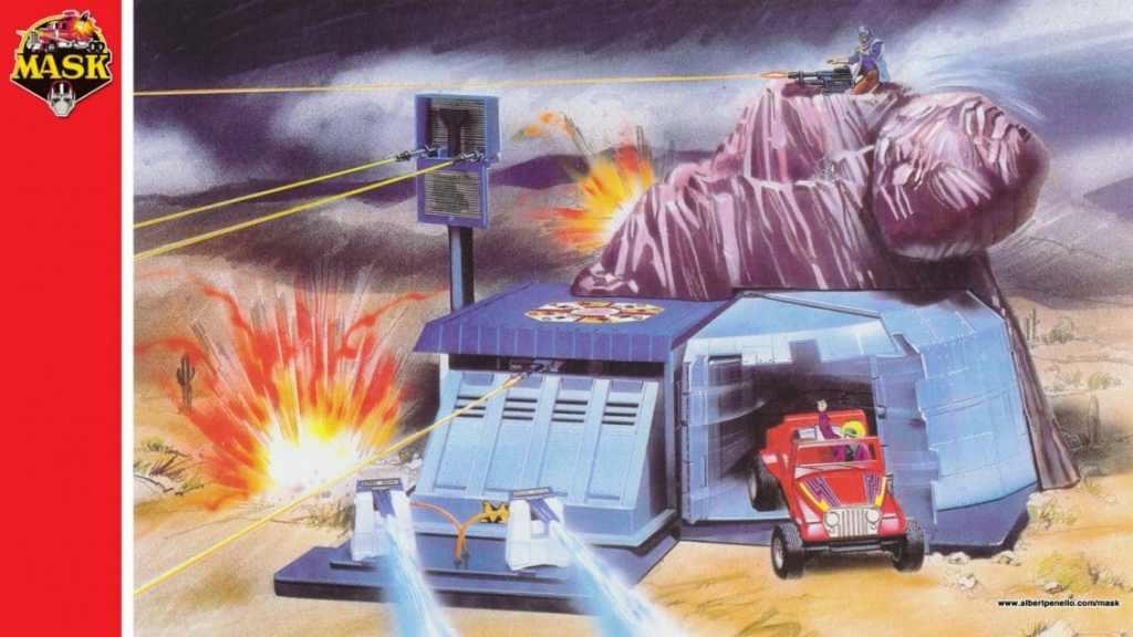 MASK Boulder Hill 80s Toys