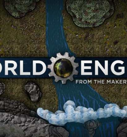 world engine logo