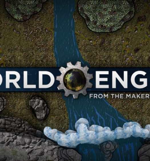 world engine logo