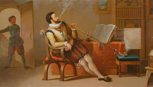Playing a Bard: Sir Walter Entertains the Queen